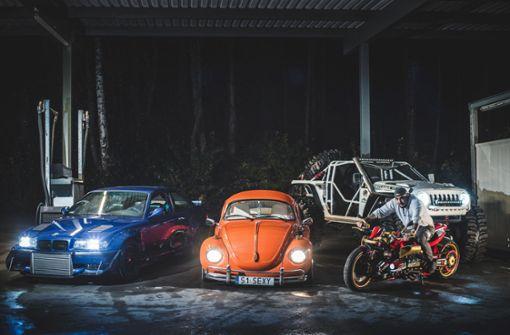 Dreier-BMW mit 1000 PS