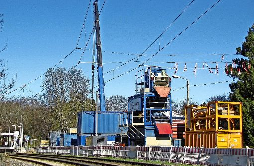 Kanalbauarbeiten dauern noch bis Ende Juni
