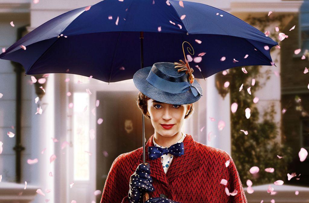 Emily Blunt als Mary Poppins Foto: Verleih
