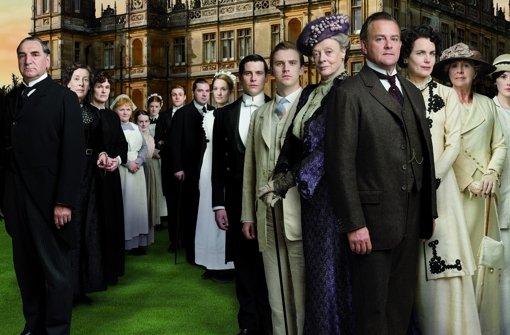 Ein Familienclan: Die Adeligen Grantham und ihre Dienstboten. Foto: ITV