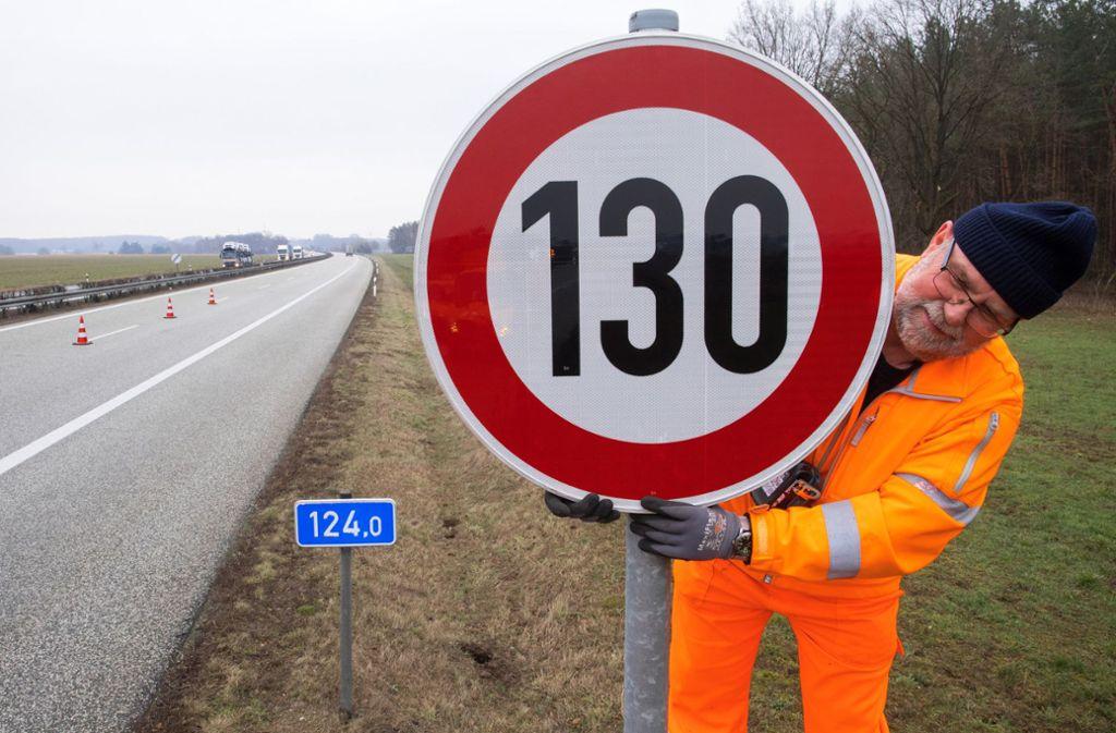 Ein allgemeines Tempolimit von 130 auf Autobahnen? Foto: dpa