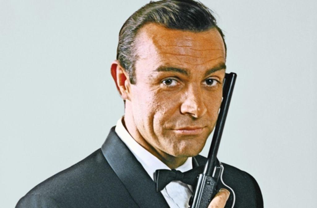 Nicht ohne meine Knarre: so sah es auch der-Bond-Darsteller Sean Connery Foto: dpa
