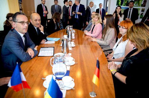 Berlin setzt auf den  Politneuling in Kiew