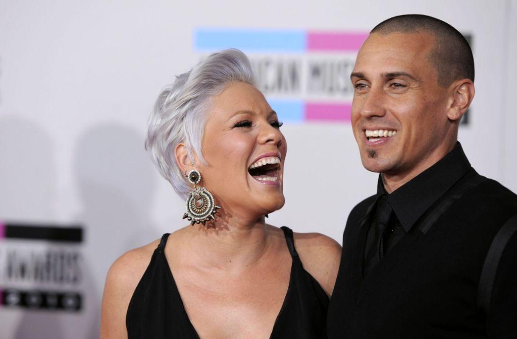 Carey Hart begleitet seine Ehefrau Pink zurzeit auf ihrer Tour. Foto: AP