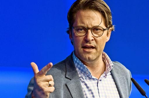 Minister Scheuer,der Zetsche-Schreck
