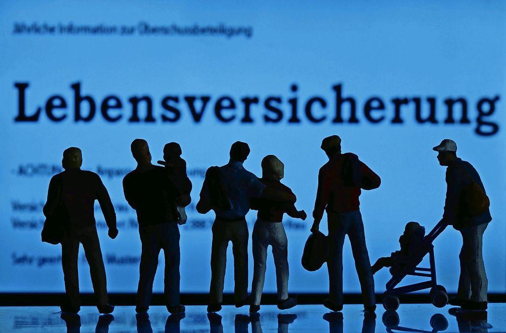 Fast 90 Millionen Lebensversicherungsverträge gibt es in Deutschland. Sie sind ganz unterschiedlich ausgestaltet. Foto: dpa-Zentralbild