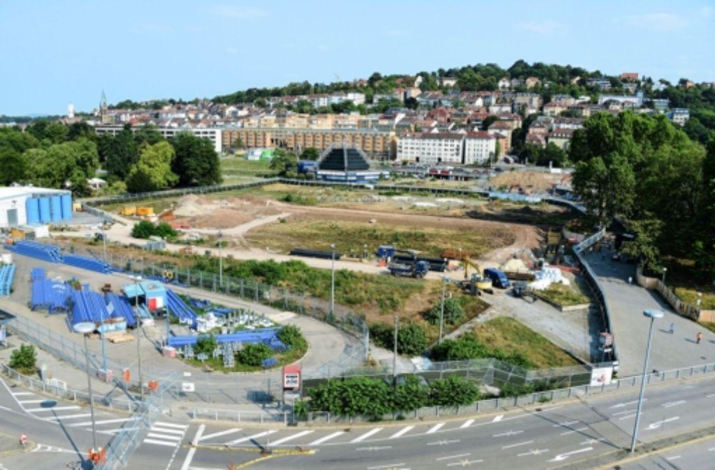 Der Gemeinderat möchte nicht, dass die Bahn im Schlossgarten tiefer bohrt, als ursprünglich geplant. Foto: Archiv