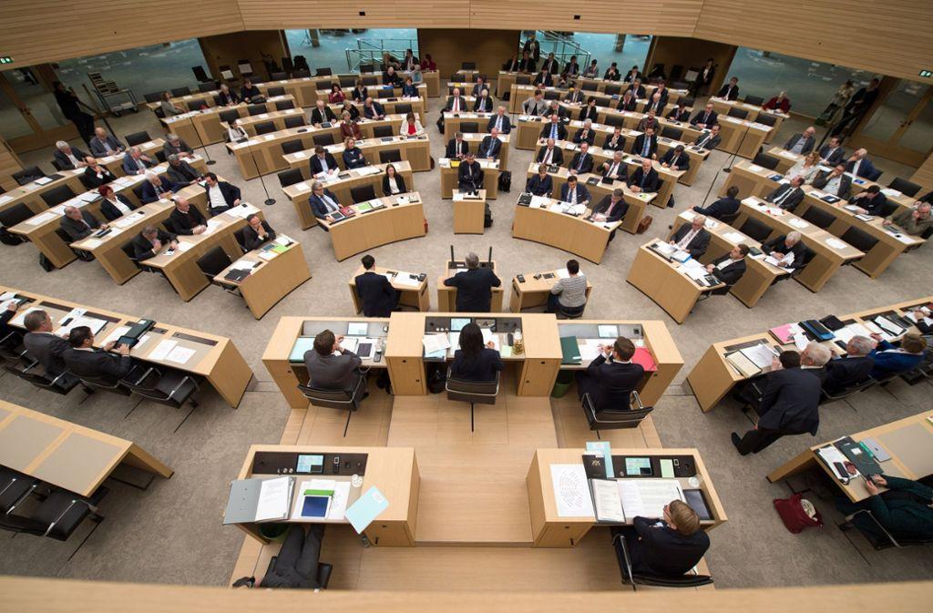 Seit 2011 ein Vollzeitparlament: Der Landtag in Stuttgart Foto: dpa