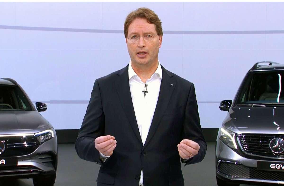 Daimler-Chef Ola Källenius kann glänzende Zahlen vorweisen. Foto: imago images//Sepp Spiegl