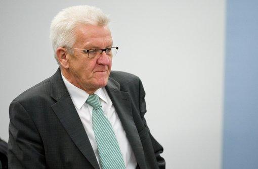 Winfried Kretschmann hat ein Gesuch auf Akteneinsicht gestellt. Foto: dpa
