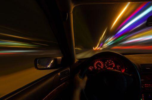 Illegales Rennen mit mehr als 250 km/h