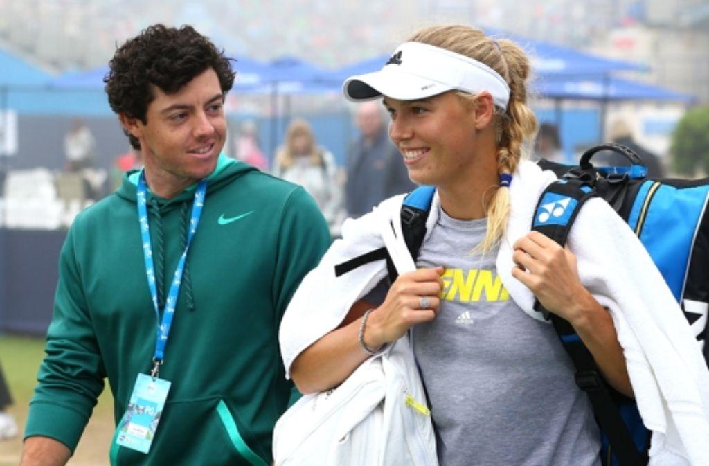 Ihre Liebe Ist Voruber Golfer Rory Mcilroy Lasst Tennisstar Caroline Wozniacki Kurz Vor Der Hochzeit Sitzen Stuttgarter Zeitung