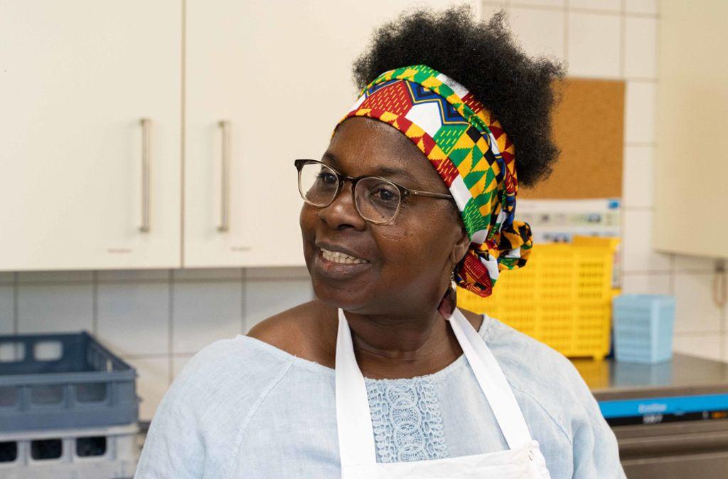 Akuna Kyeremeh hat den günstigen Mittagstisch für alte und bedürftige Menschen gegründet. Foto: