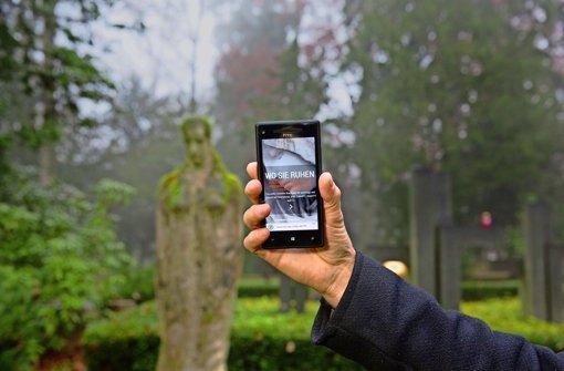 Digitale Informationen zu historischen Gräbern