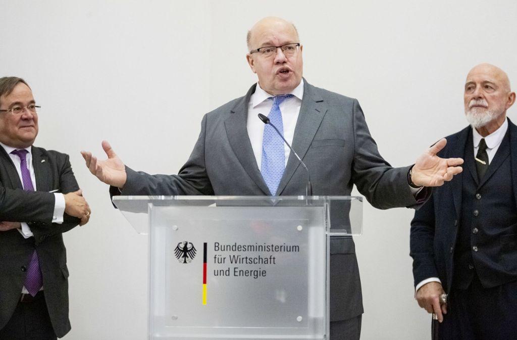 Peter Altmaier hat Wolfgang Schäuble kritisiert. Foto: dpa
