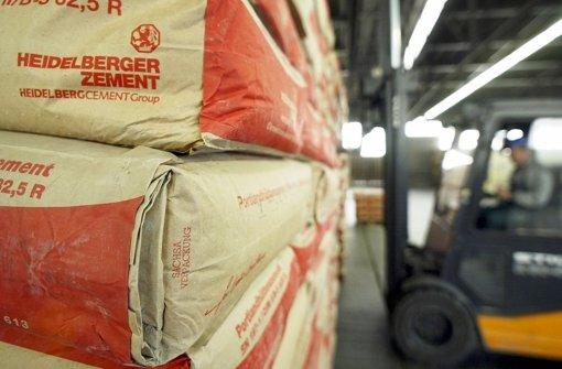 Heidelberg Cement will Rivalen kaufen