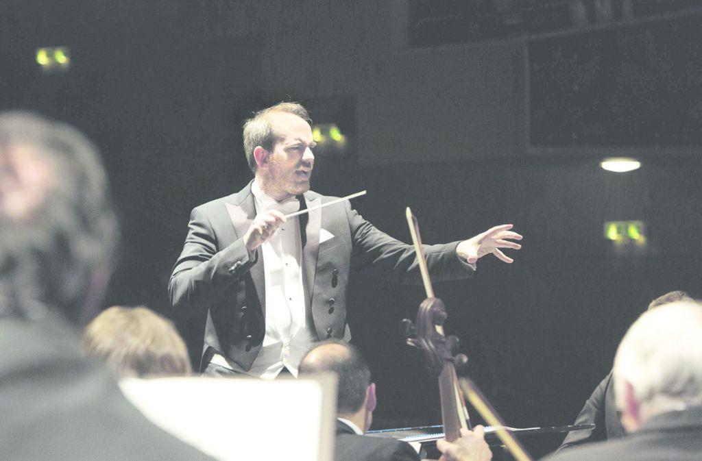 Sein großes Vorbild ist Leonard Bernstein: Rasmus Baumann Foto: Pedro Malinowski