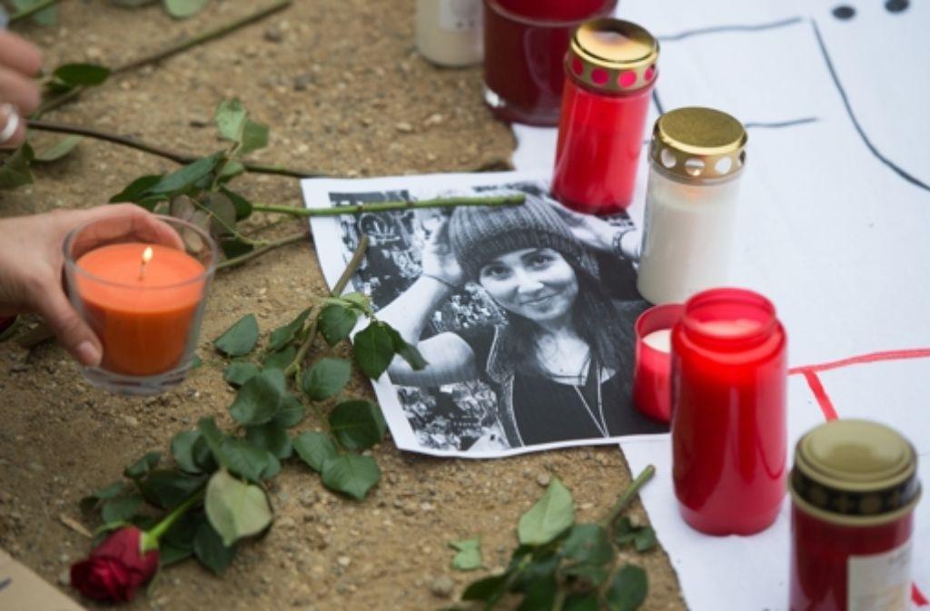 Mitte November 2014 war die Studentin Tugce A. gewaltsam zu Tode gekommen. Foto: dpa