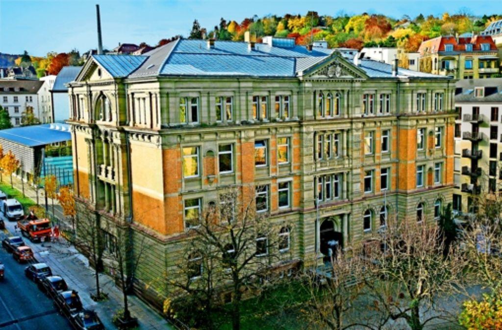 Das Karls-Gymansium ist das älteste Gymnasialgebäude in Stuttgart. Foto:
