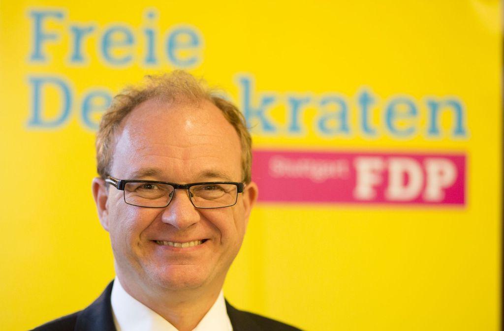 Michael Conz ist schon oft Kandidat der FDP für wichtige Ämter gewesen und ist gegenwärtig in Stuttgart auch stellvertretender Kreisvorsitzender. Foto: Lichtgut/Leif Piechowski