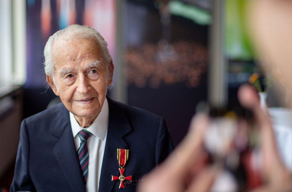 Schwarzbaum, 1921 in Hamburg geboren, überlebte mehrere Konzentrationslager. Foto: dpa