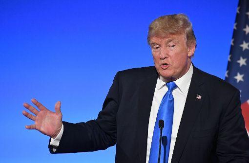 US-Präsident verteidigt Juniors Treffen als Recherche-Auftrag