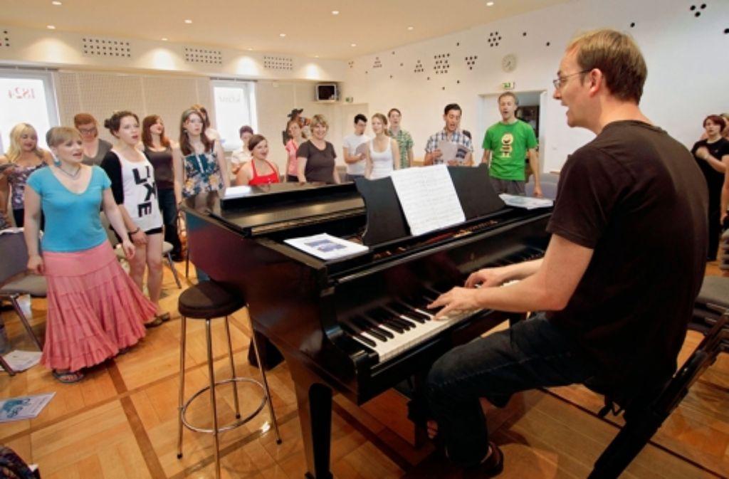 Die Verjüngungskur hat Erfolg. Im Pop-Ensemble ist der Altersdurchschnitt 27 Jahre. Foto: factum/Granville