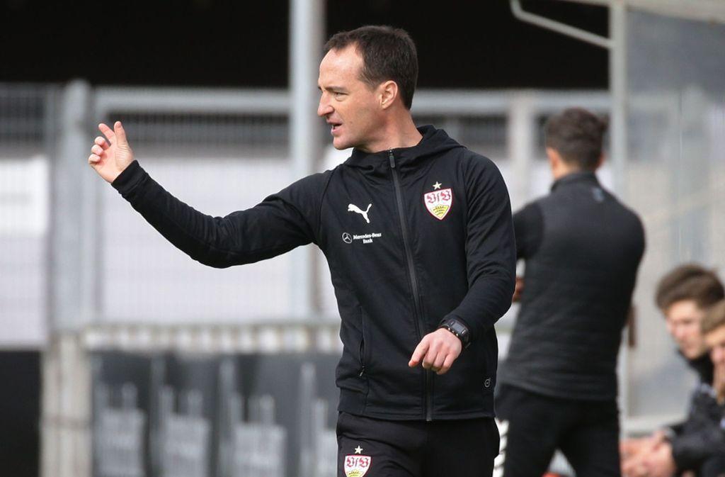 Nico Willig soll den VfB Stuttgart zum Klassenverbleib führen. Foto: Pressefoto Baumann