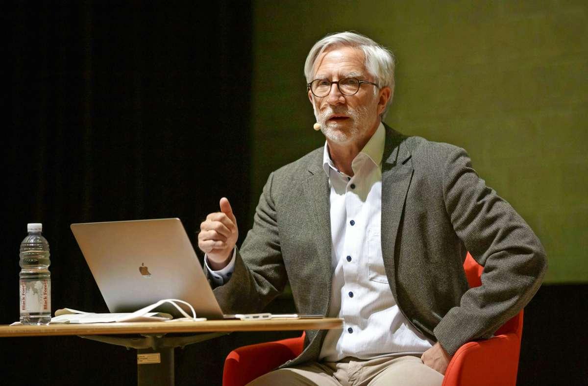 StZ-Autor Armin Käfer war zu Gast beim digitalen Pressecafé Foto: Lichtgut/Julian Rettig