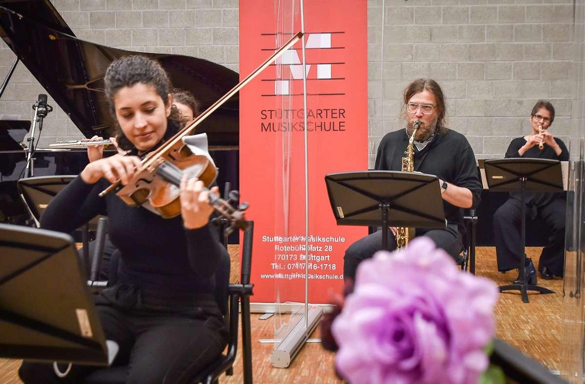 Die Stuttgarter Musikschule beschreitet in der Pandemie neue Wege. Foto: Lichtgut/Ferdinando Iannone