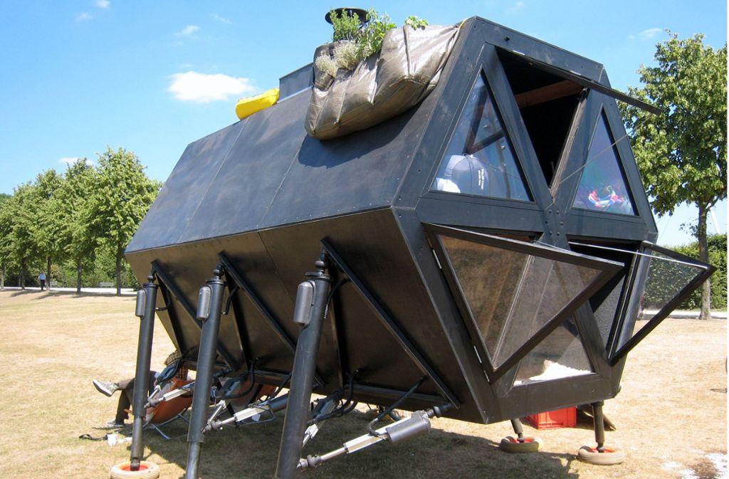 Mobil auf sechs Beinen: das Walking House Foto: Tbachner/Wikimedia Commons