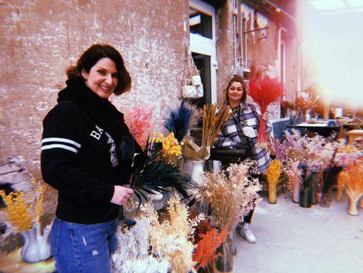 Coco Seizer und Maleika haben als Driedflowers-Expertinnen in ihrem Cocorner Shop natürlich eine bunte Auswahl an Trockenblumen im Angebot...