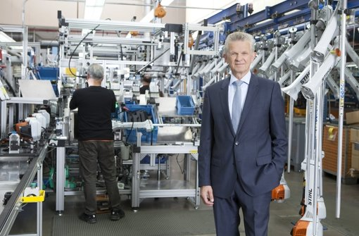 Stihl stellt Investitionsprogramm vor