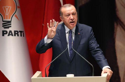 Türkei kritisiert Auftrittsverbot für Erdogan
