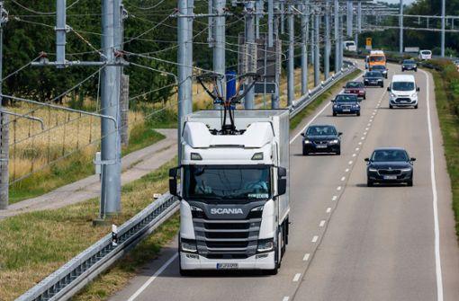Testlauf für den Güterverkehr der Zukunft