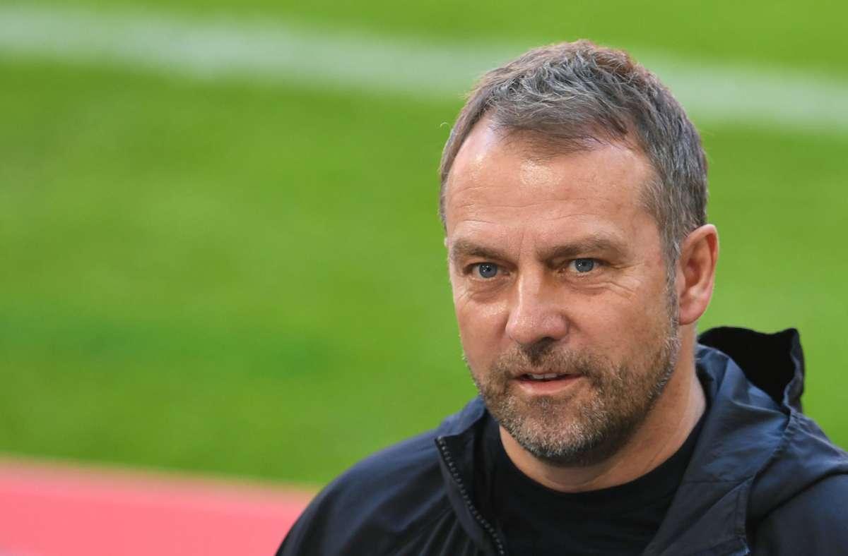 Startet in Stuttgart als Bundestrainer: Hansi Flick Foto: dpa/Andreas Gebert
