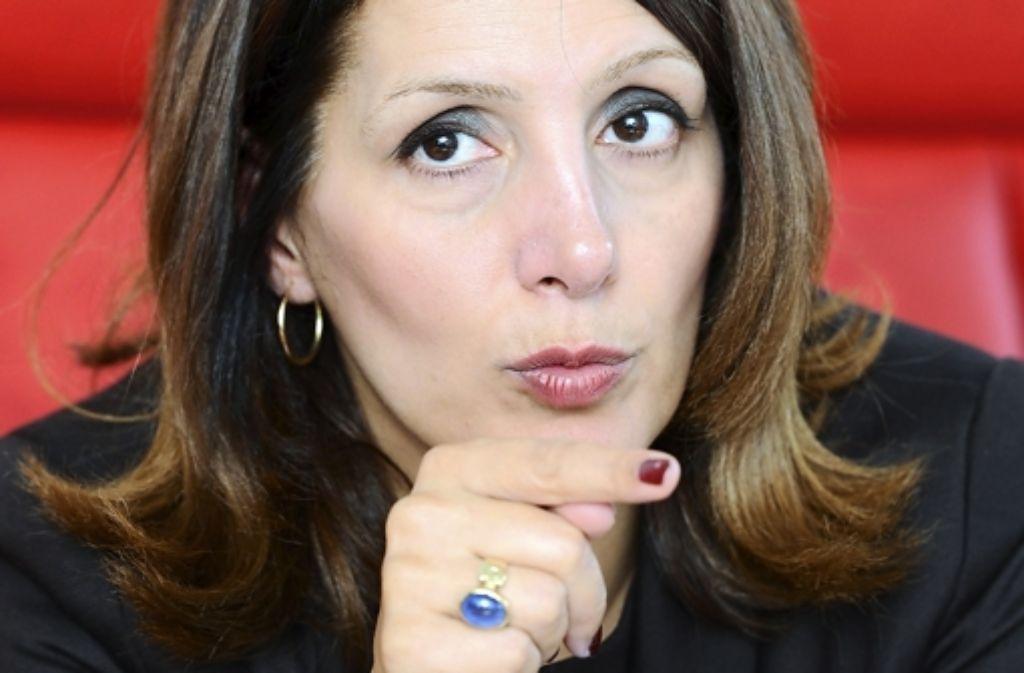 Ministerin Bilkay Öney (SPD) hatte mit ihrer Absage die Öffentlichkeit irritiert. Foto: dpa