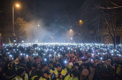 Erneut regierungskritischer Massenprotest in Ungarn