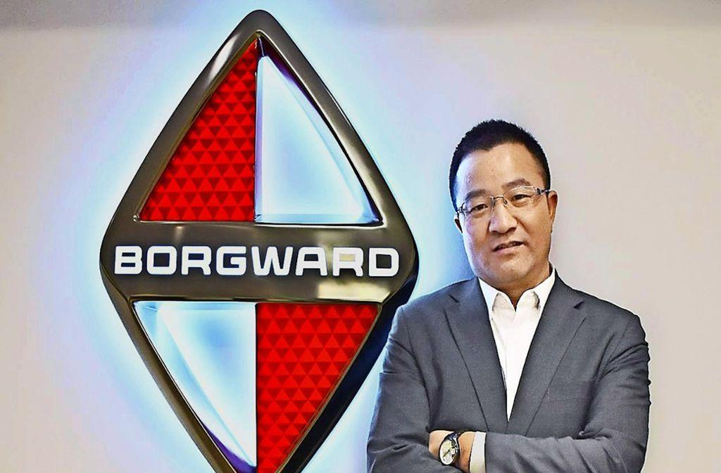 Der frühere Daimler-Manager Xiuzhan Zhu ist neuer Chef von Borgward. Foto: Borgward