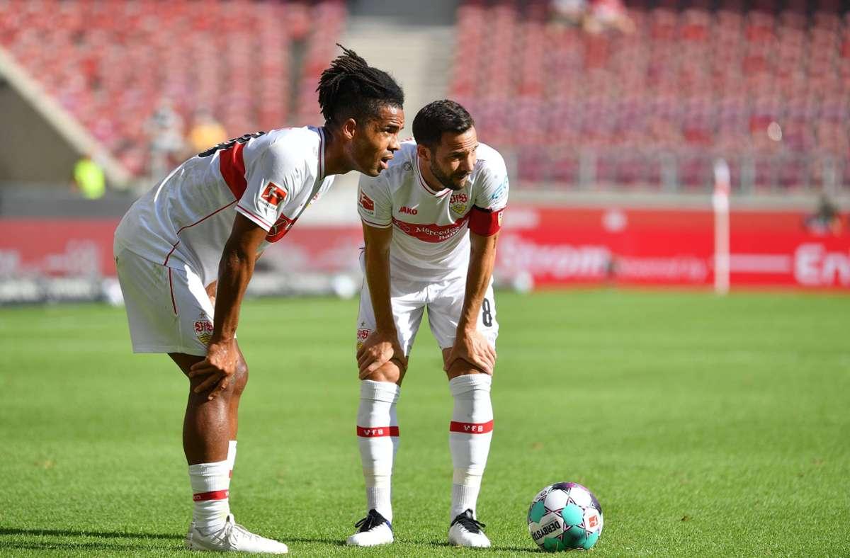 Wie geht es für Daniel Didavi (links) und Gonzalo Castro beim VfB Stuttgart weiter? Foto: imago images/Sven Simon