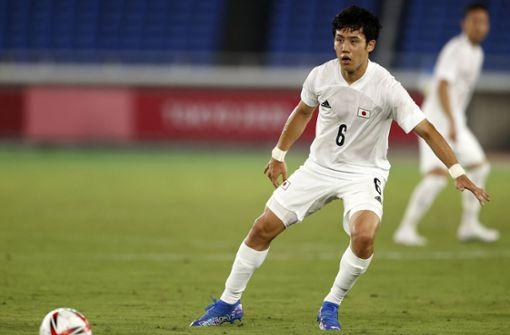 Wataru Endo steht mit Japan im Halbfinale