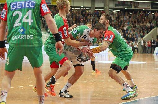 Göppingen gewinnt Hinspiel gegen Magdeburg
