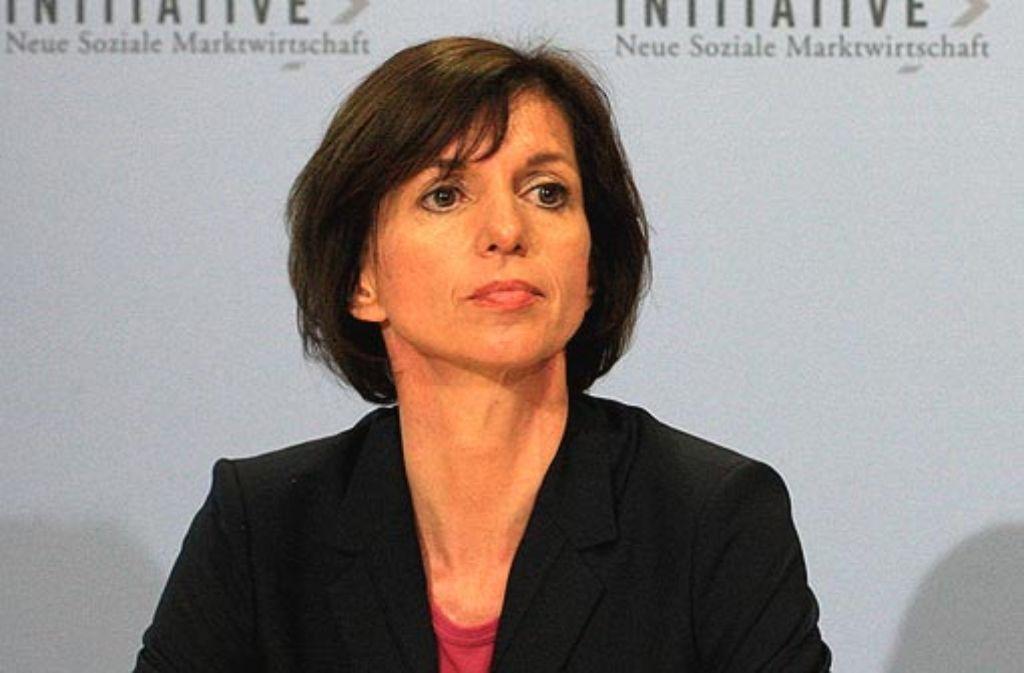 Jutta Allmendinger setzt sich für die Gleichberechtigung der Frau ein. Foto: INSM