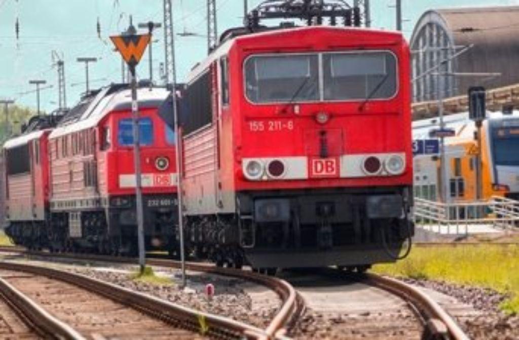 Der Güterverkehr in Stuttgart-Untertürkheim lief im Juli nicht reibunglos.  Foto: dpa/Symbolbild