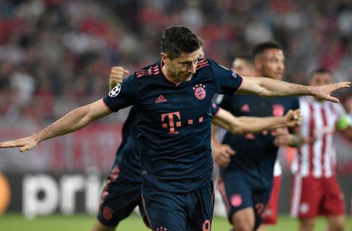 Lewandowski und Müller führen Bayern zum Sieg in Piräus