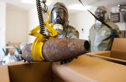 Chemikalien aus Libyen auf dem Weg nach Deutschland