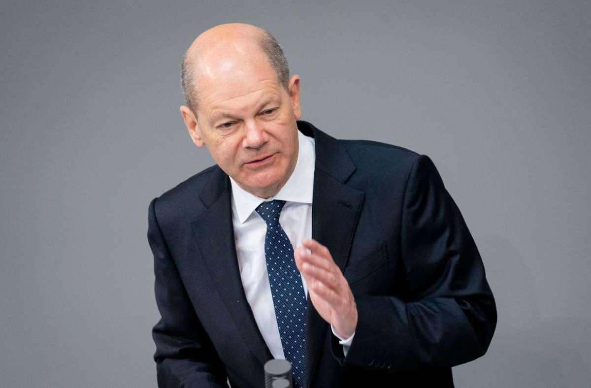 Finanzminister Olaf Scholz (SPD) Foto: dpa/Kay Nietfeld