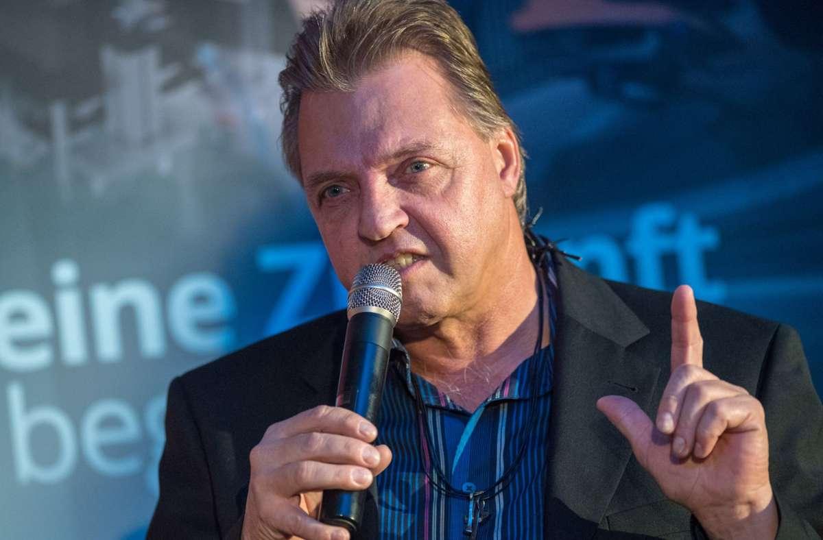 Jochen Behle hat auch mit 60 Jahren noch jede Menge zu sagen. Foto: imago/Gerhard König