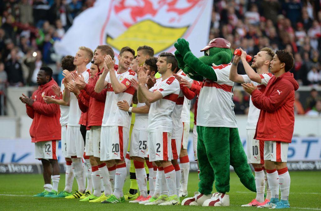 Wie die Stimmung beim VfB Stuttgart wohl nach dem Topduell gegen den Aufstiegs-Konkurrenten Hannover 96 sein wird? Foto: dpa