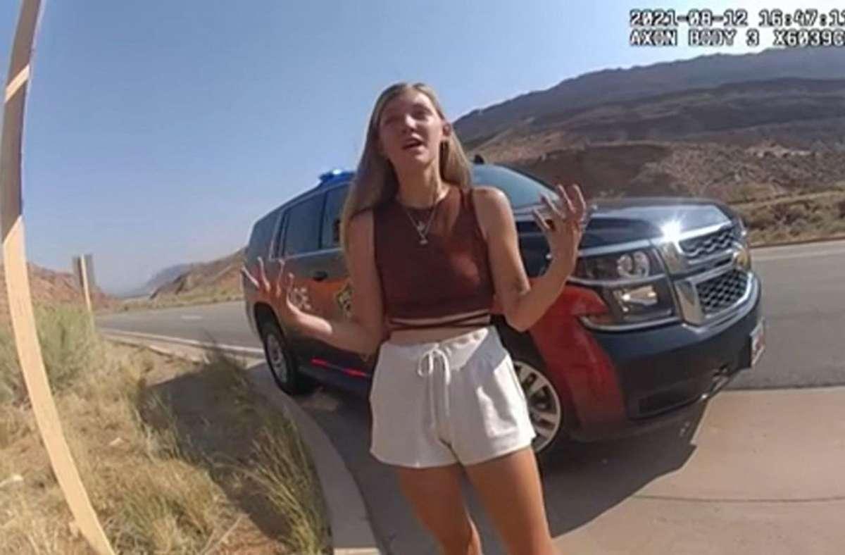 Gabby Petito und ihr Freund waren im Sommer zu einem Trip durch die USA aufgebrochen (Archivbild). Foto: AFP/HANDOUT/Moab City Police Department
